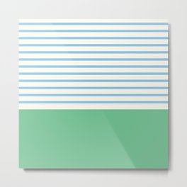 Narrabeen Stripe Metal Print