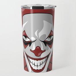 Clown Wicked Common Came creepy horror gift Travel Mug
