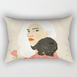 Pussy Cat Rectangular Pillow