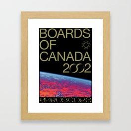 BOARDS OF CANADA - GYROSCOPE Framed Art Print