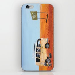 Going to the Beach iPhone Skin