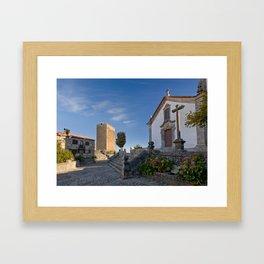 Linhares castle, Portugal Framed Art Print