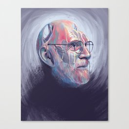 Oliver Sacks Canvas Print