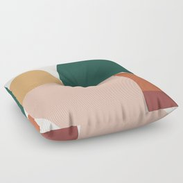 Abstract Geometric 11 Floor Pillow
