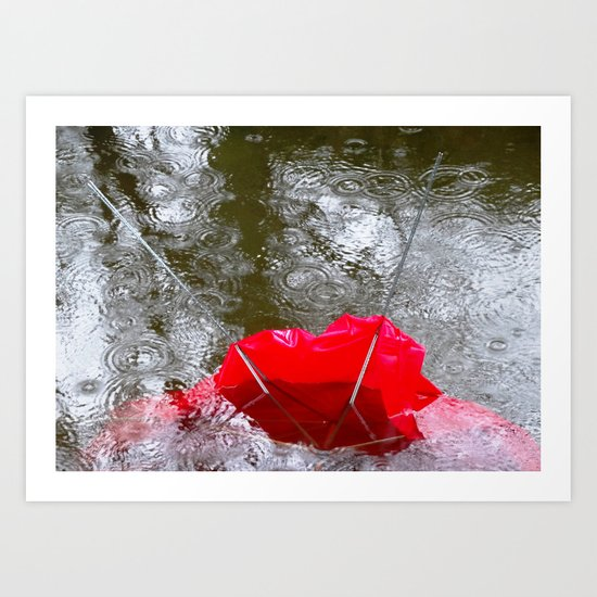 SMTHNG In The Water 38 Art Print