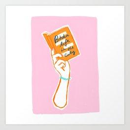 BITCHIN LIFE  Art Print