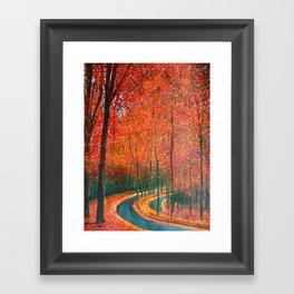 Beautiful colors of Autumn Framed Art Print