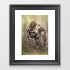 Gorilla in the Mist Framed Art Print