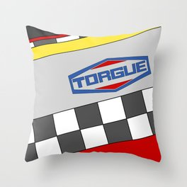 Borderlands Torgue Brand Throw Pillow