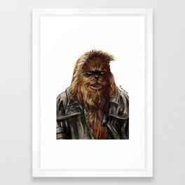 Wulchok the Wookiee Bounty Hunter Framed Art Print
