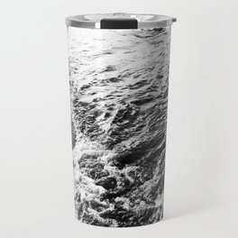 Wave and sand Travel Mug