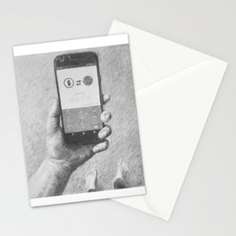 Does a Bit of change scare a numismatist? Stationery Cards