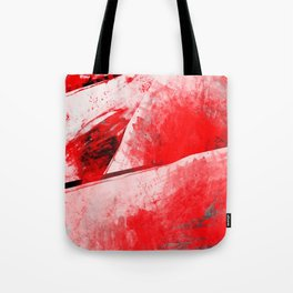 Bloody Mary - Abstract Digital Art Tote Bag