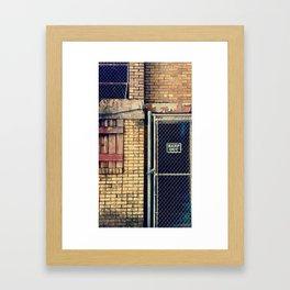 Abandoned Garden Framed Art Print