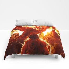 Attack of Titan Comforters