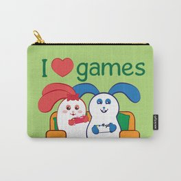 Ernest | Loves games Carry-All Pouch