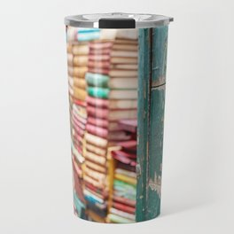 Vintage Venice Library Travel Mug