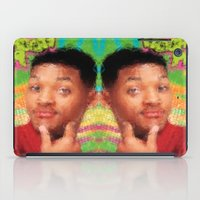 fresh prince iPad Cases featuring Will Smith - Fresh Prince by Alice Z.