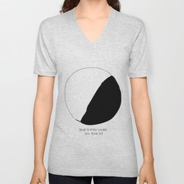 Black and White Cookie New York Unisex V-Neck