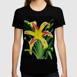 Daylily Solo - Hemerocallis 'Free Wheelin' T-shirt