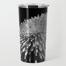 Dandelion Taraxacum blossom flower Travel Mug