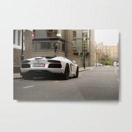 Aventador Roadster  Metal Print
