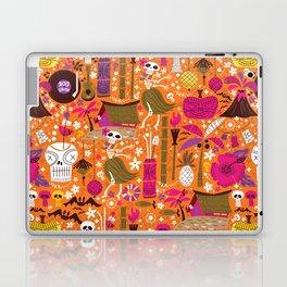 Tiki Freaks do the Hulaween Laptop & iPad Skin