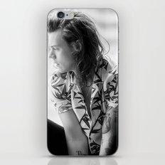 Harry Styles B&W iPhone & iPod Skin
