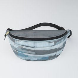 Calm Ocean Abstract Fanny Pack