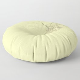 Modern Dorothy Street Wear Floor Pillow