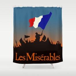 Les Miserables Shower Curtain