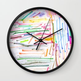 My Line's A Mess Wall Clock