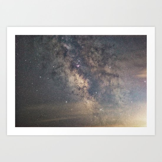 Sagittarius and the Galactic core Art Print