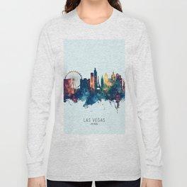 Las Vegas Nevada Skyline Long Sleeve T-shirt