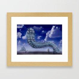 Kreative Architektur Framed Art Print