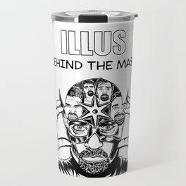 ILLUS: Behind the Mask Travel Mug