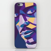prince iPhone & iPod Skins featuring Prince by Liam Brazier