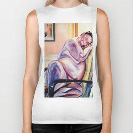 She Dreams of Everything She is Biker Tank