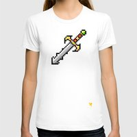 sword T-shirts featuring Sword by HOVERFLYdesign