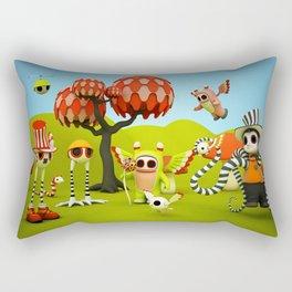 The Gathering Rectangular Pillow