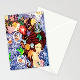 Droplet's Sphere Stationery Cards
