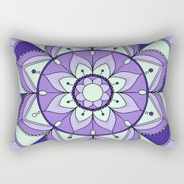 Mandala Maze Rectangular Pillow