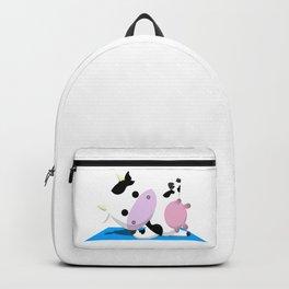 TeeTee - The Aerobic Cow #03 Backpack