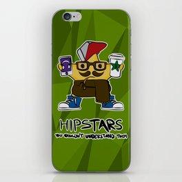 hip STAR iPhone Skin