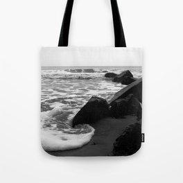 Morning Tide at Folly Beach Tote Bag