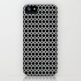 Eloos B&W 2 iPhone Case