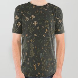 Old World Florals All Over Graphic Tee