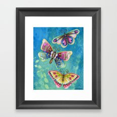 Give Your Spirit Wings  Framed Art Print