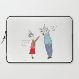 similar hats Laptop Sleeve