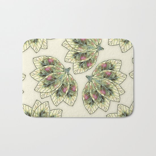 Colorful Leaves 4 Bath Mat